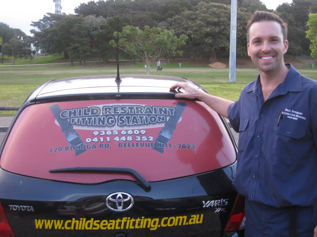 Child seat Fitting Company Car